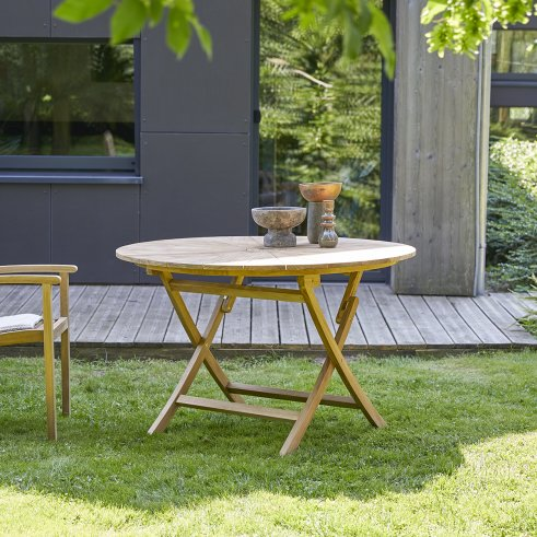 Andria Teak Outdoor Table 120