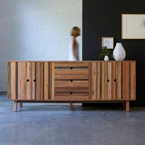 Brooklyn recycled wood Sideboard 227