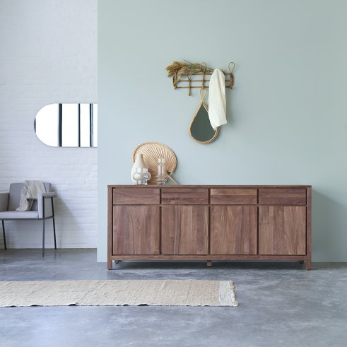 Buffet aus Walnuss 180 Solid