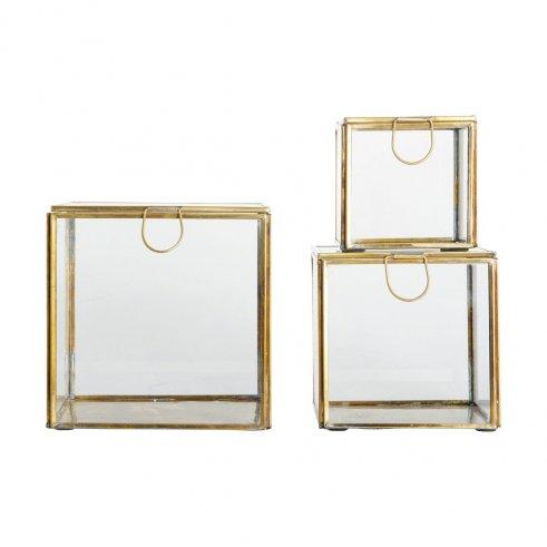 Cajas de cristal Macha Gold