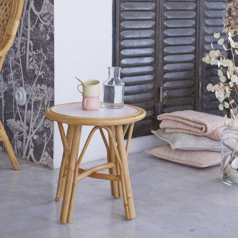 Colette Rattan Side Table 40