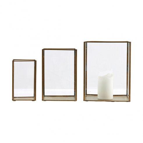 Conjunto 3 caja vitrina Maja
