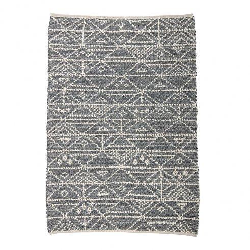 Der Wollteppich Kilim 120 × 180