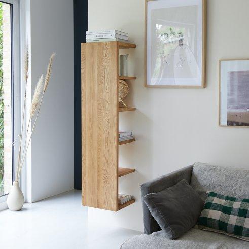 Easy 35x140 oak shelving unit