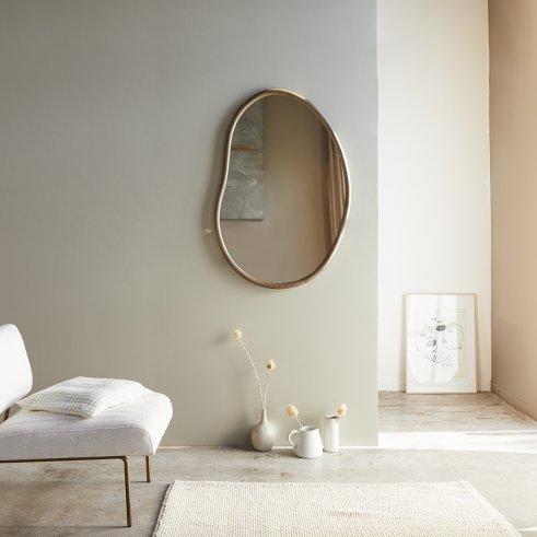 Espejo de madera de mindi Dim de 100x70