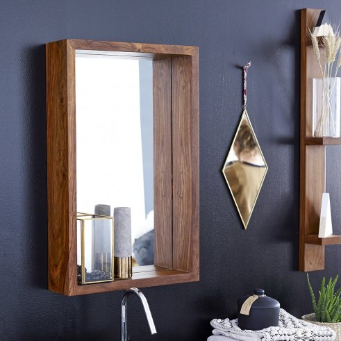Espejo en palisandro Easy 70x45