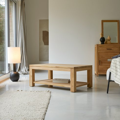 Eve Teak Coffee Table 100x60