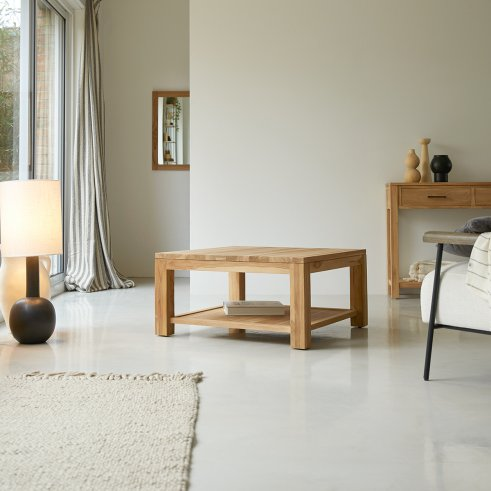 Eve Teak Coffee Table 80x80