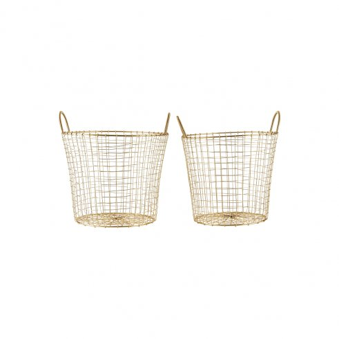 Gigogne Gold Baskets