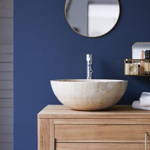 Ibyza Cream Marble Washbasin