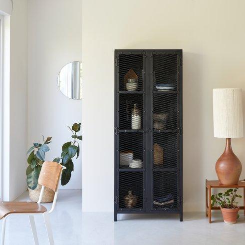 Industriel Metal Grill Cabinet 70
