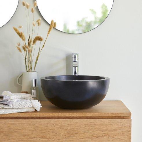 Isa Black Terrazzo Washbasin