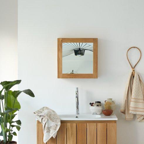 Jill 43 Bathroom Cabinet in Teak