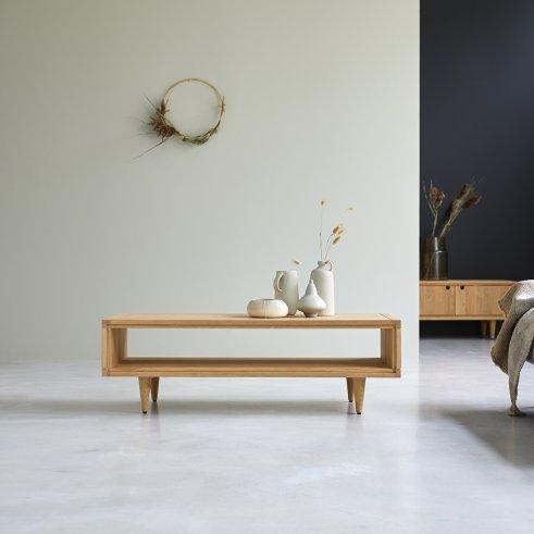 Jonàk Oak 120x50 oak coffee table