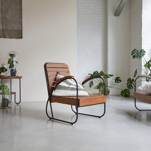 Key Wood Armchair