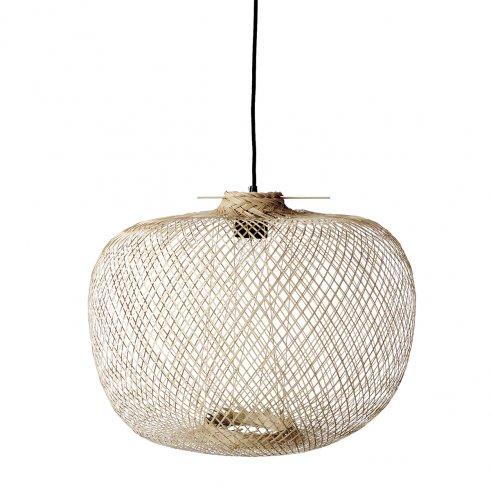 Lampada a sospensione in bambù Rita 40