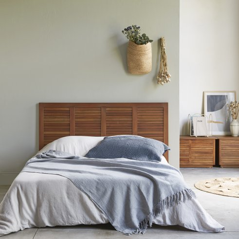 Loggia Mahogany Bed Headboard 160