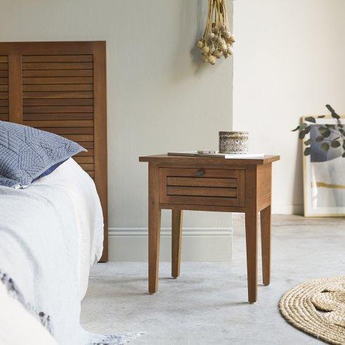 Loggia Mahogany Bedside Table