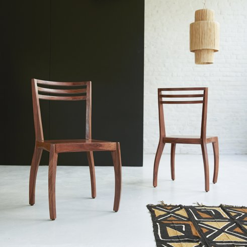 Luna rosewood chair
