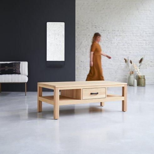 Mesa de centro en roble 110x60 Vertigo Oak