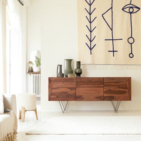 Metric Sheesham Sideboard 175