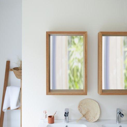 Miroir en chêne Easy 70x45