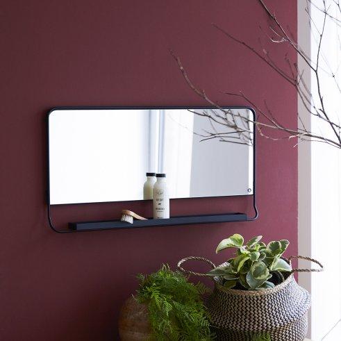 Miroir en métal 80x40 Element
