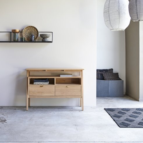 Oak console table 120 Pola