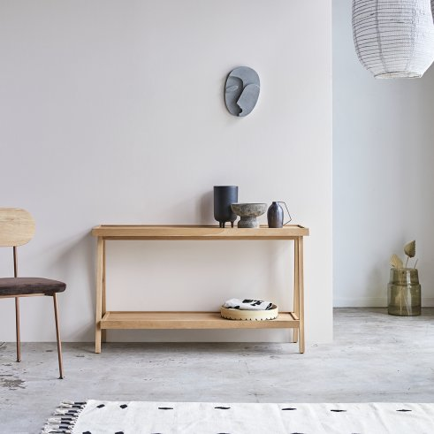 Oak console table 130 Pola