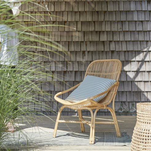 Pia natural Rattan outdoor Armchair