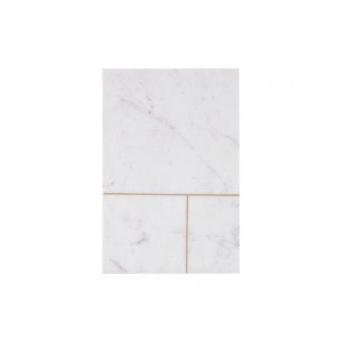 Plateau marbre neige n°1