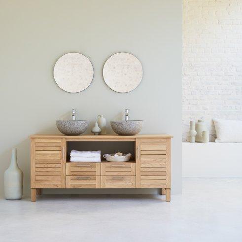 Soho Oak 165 oak bathroom unit