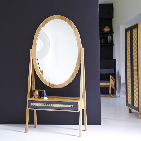 Specchio in Mango 160x77 Rafael