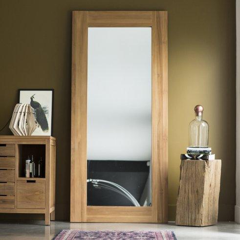 Specchio Teak Square 200x90