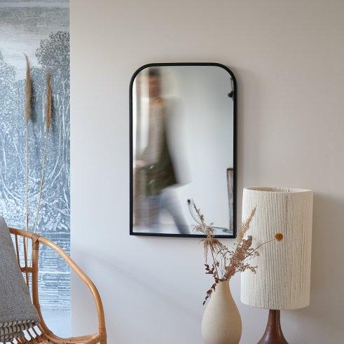 Spiegel aus Metall 80x50 Nordic