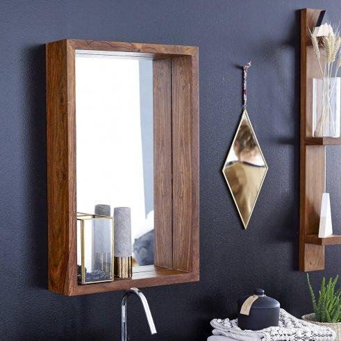 Spiegel aus Palisander 70x45 Easy
