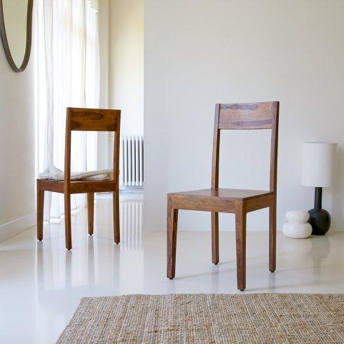 Stuhl aus Palisander Mezzo
