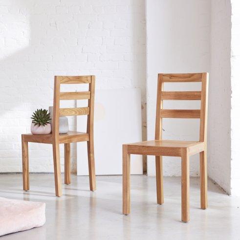 Stuhl aus Teak Alto