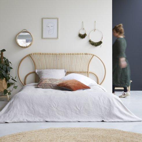 Tête de lit en rotin 160 Léontie