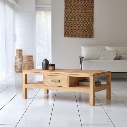 Table basse en teck 110x60 Vertigo
