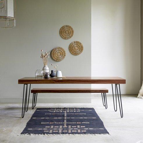 Table en palissandre 210x75 Helga