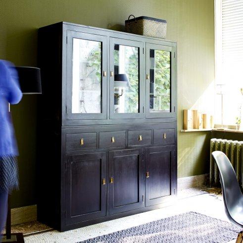 Tao Mahogany Display Cabinet 150