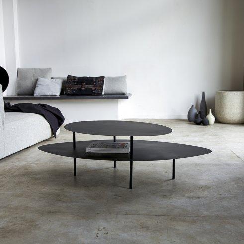 Tavolino in metallo 120x70 Judit