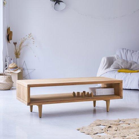 Tavolino in Teak 120x50 Jonàk