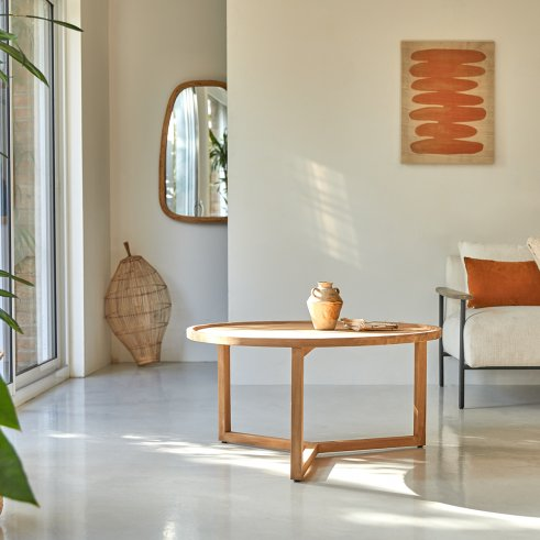 Tavolino in teak 90 Ana