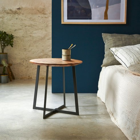 Temis Acacia Bedside Table