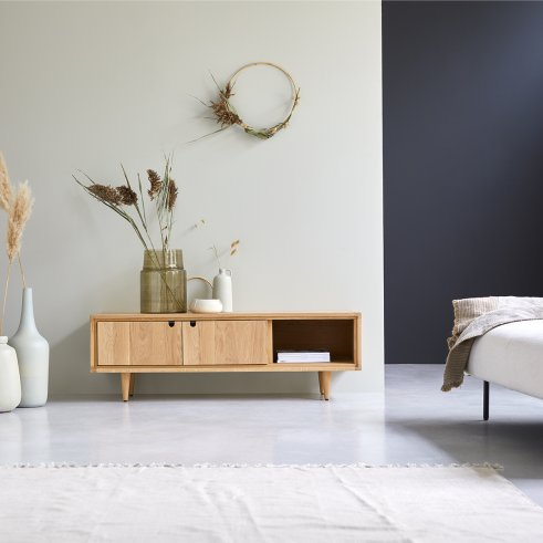 TV-Möbel aus Eiche 140 Jonàk Oak