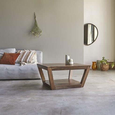 Villa Sheesham Coffee Table 80x80