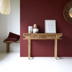 115 Junie side table in recycled teak