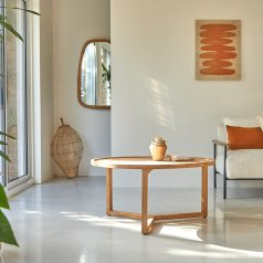 Ana Teak Coffee Table 90